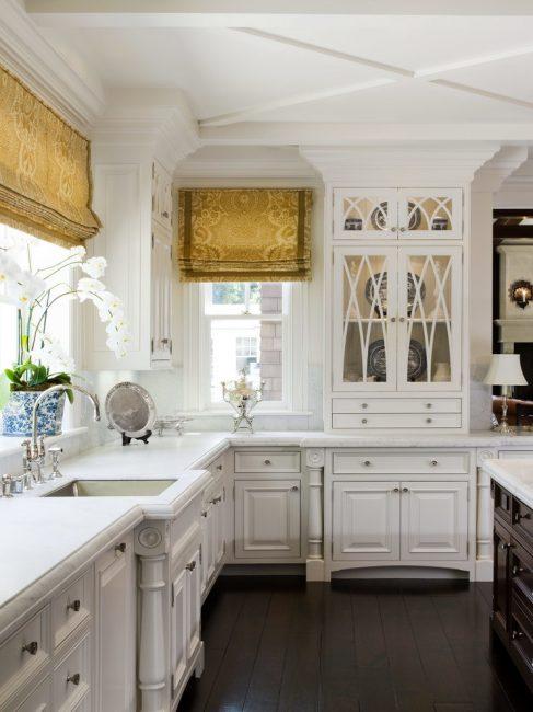 Mutfak tasarımının klasik versiyonu
