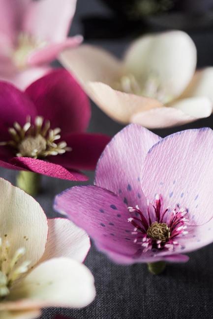 Kağıt İhale Çiçekler