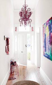 Dewan masuk elegan di dalam rumah (180+ Foto): Bahagian dalaman yang paling bergaya dan berpatutan