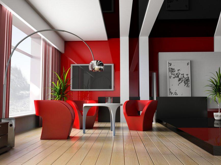 Pilih warna bilik mengikut tenaga dalaman anda