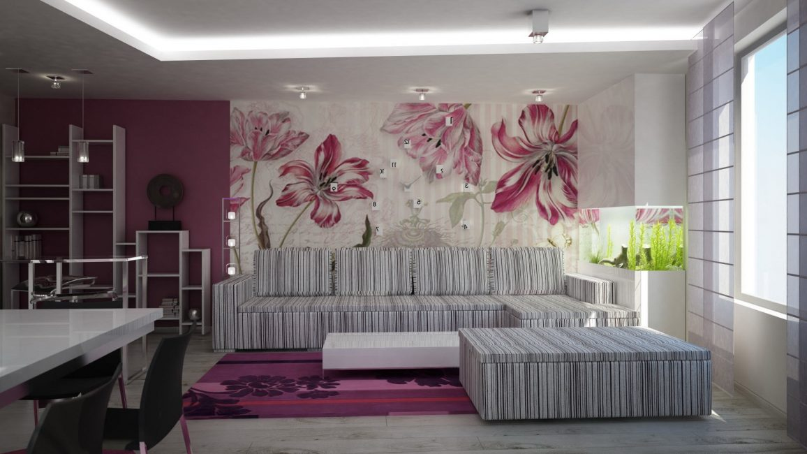 Doğal ışıkla duvar kağıdını seçin