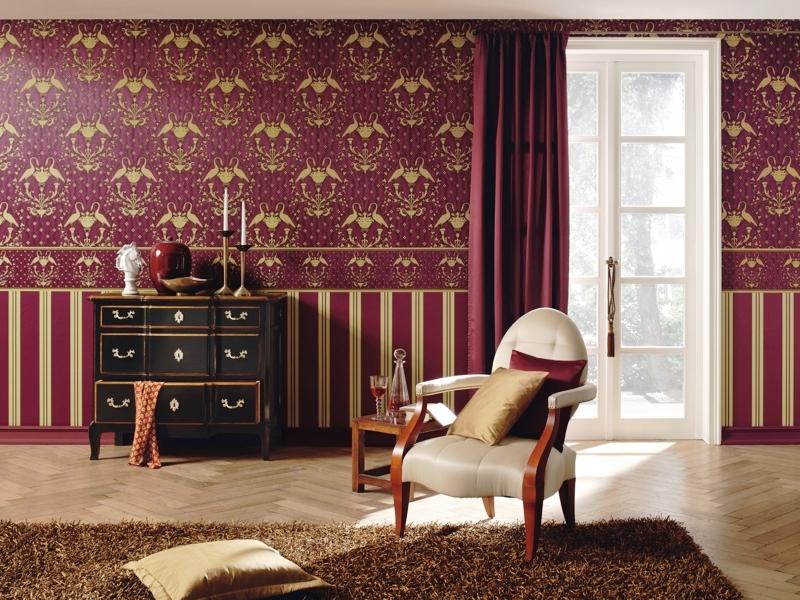 Geleneksel İngiliz tarzında geniş oturma odası