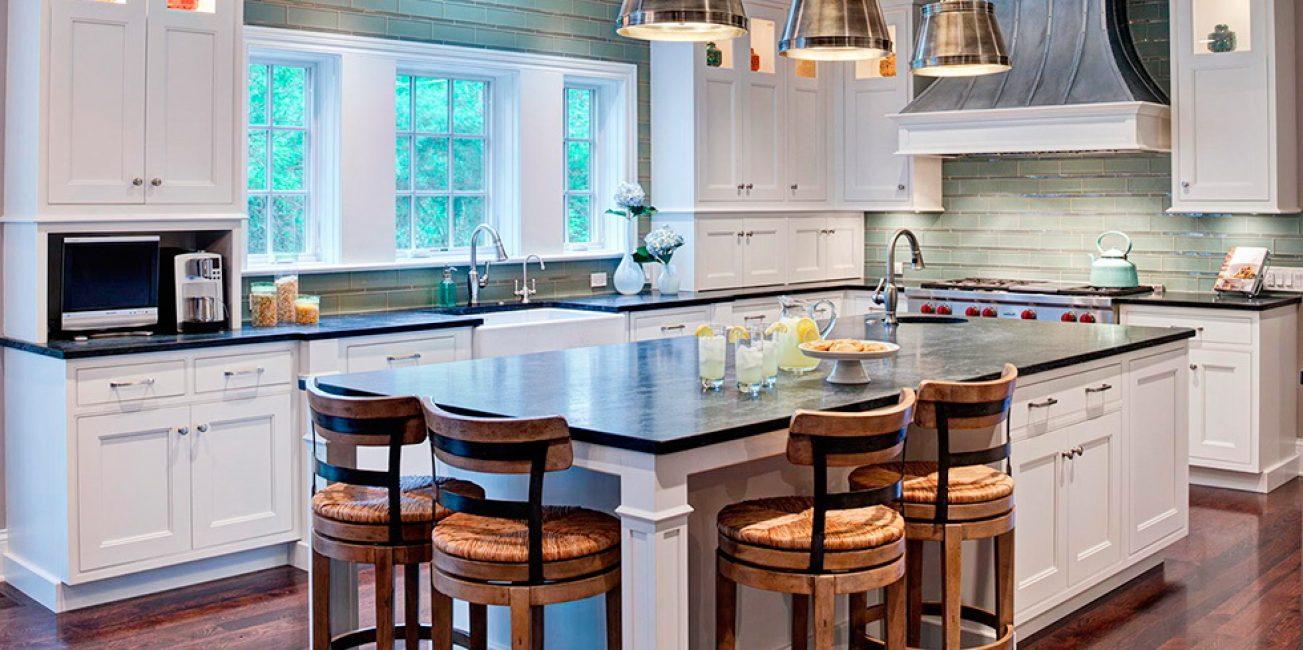 Terdapat lebih banyak ruang di rumah anda, jadi terdapat lebih banyak kawasan dapur.