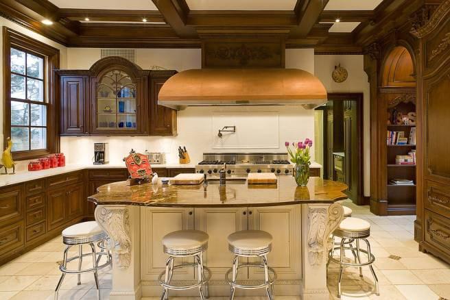 Mutfakta çeşitli set