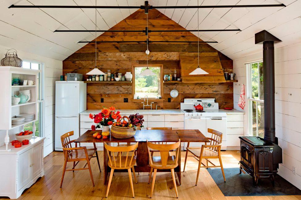 Dapur perlu sentiasa selesa.