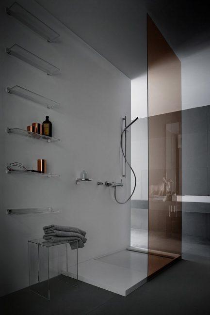 Reka bentuk asal bilik mandi
