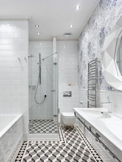Interior bilik mandi yang indah