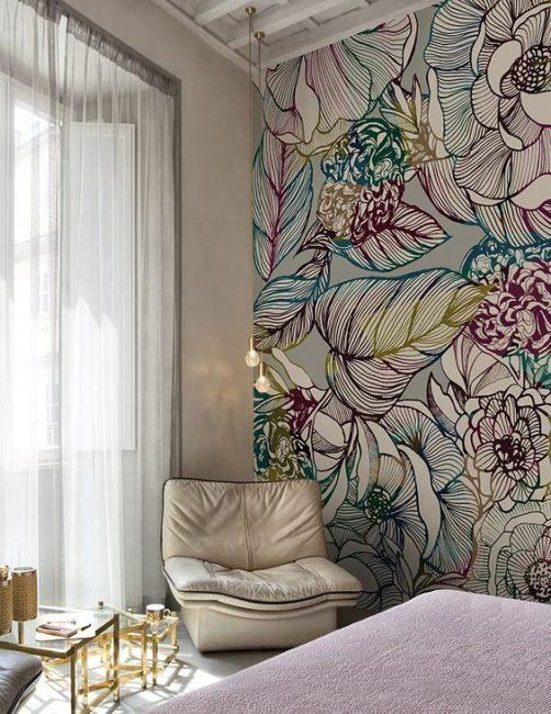 Kombinasi warna yang indah akan menjadikan bilik selesa