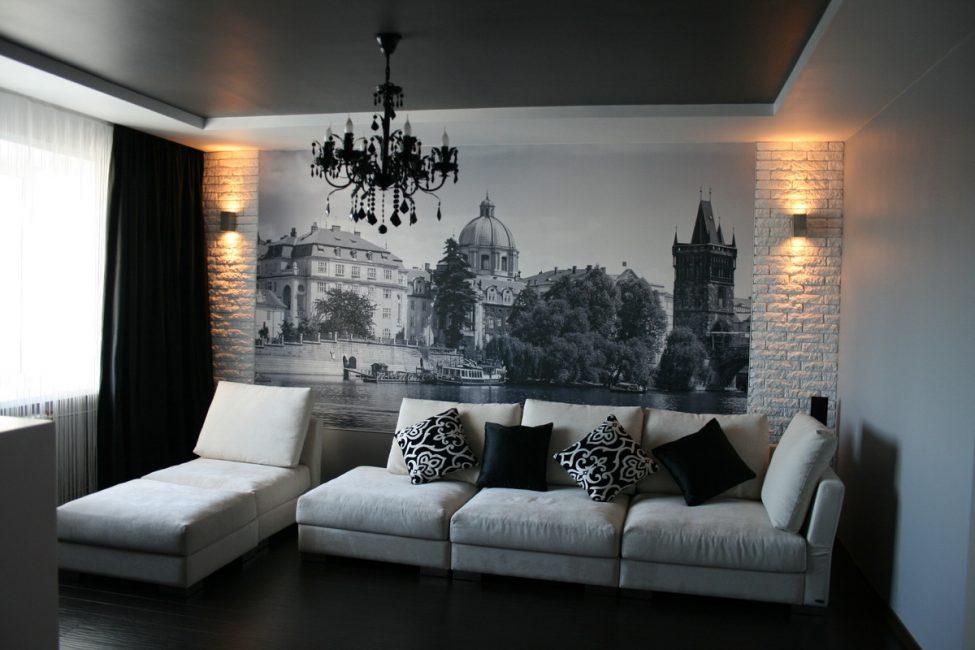 Gambar kertas dinding realistik gambar sangat besar