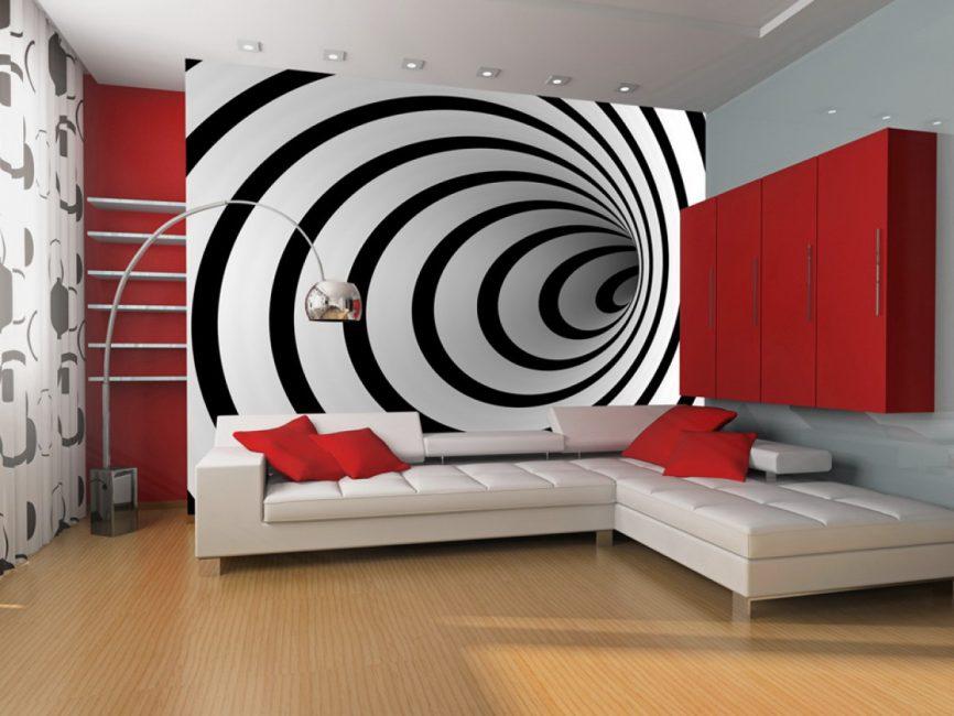 Penyelesaian terbaik untuk mengemaskini reka bentuk adalah wallpaper baru