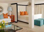 같은 방에있는 거실과 침실 배치 (235+ Design Photos) : 편리하고 편리하게 공간 활용