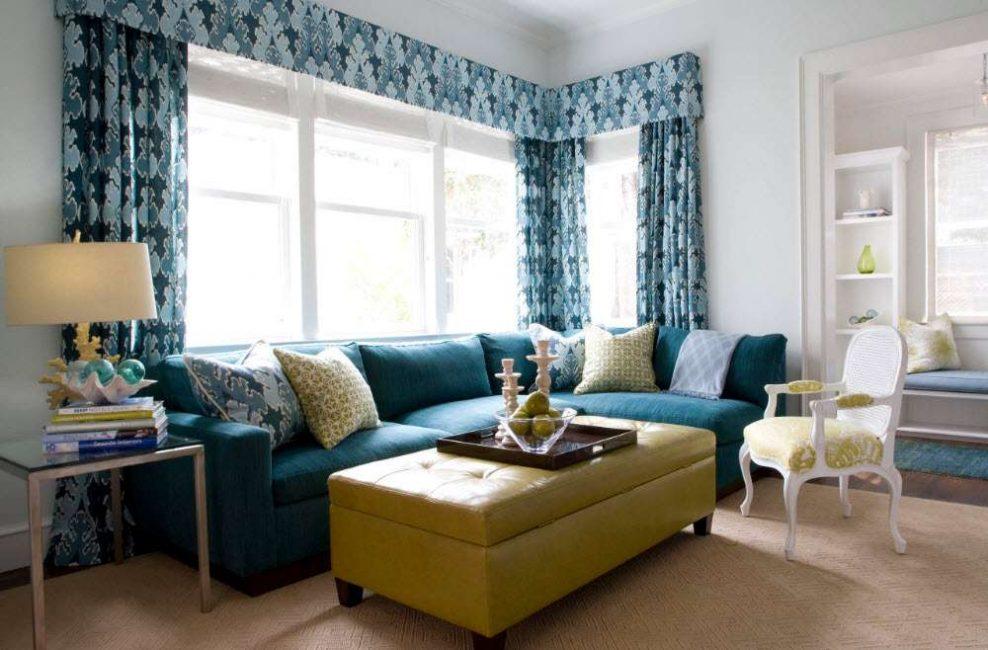 Pilih tempat yang terang untuk ruang tamu