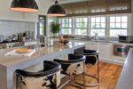 Reka bentuk dapur dengan bar (220+ Foto) - Keupayaan untuk membuat pedalaman yang indah dan moden
