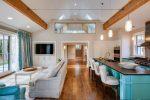 Interior dapur digabungkan dengan ruang tamu (180+ Foto): Rekaan helah dan rahsia penempatan