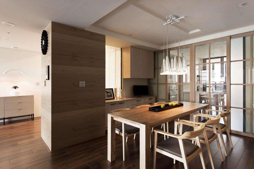 Mutfak alanını azaltarak oturma odasını arttırın