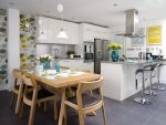 Kertas dinding moden untuk dapur (240 + Foto): Katalog Idea