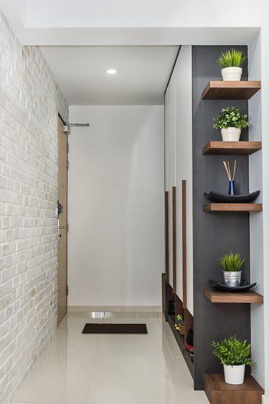 Duvarların mobilyalarla birleştirilmesi, güzel bir iç mekan için çok önemlidir.