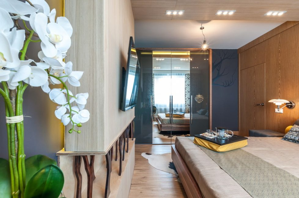 Dolap, öne çıkması gereken odanın ana özelliğidir.