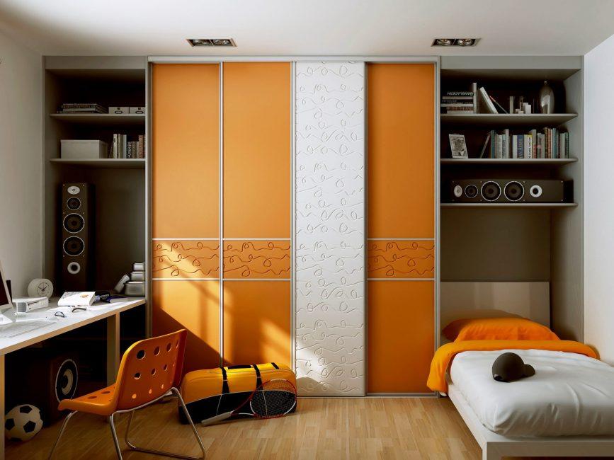En pratik mobilyalar modülerdir ve yerden tasarruf sağlar.