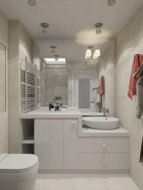 Design moderno del bagno