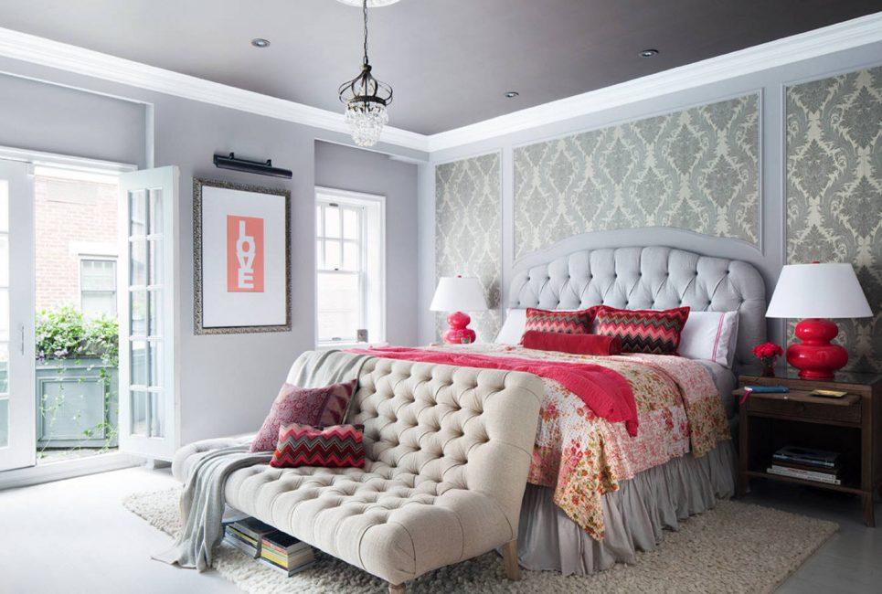 Klasik tasarımda, rahatlatıcı renkler kullanın.