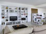 Dinding moden di ruang tamu (370+ Foto): Gaya bilik moden
