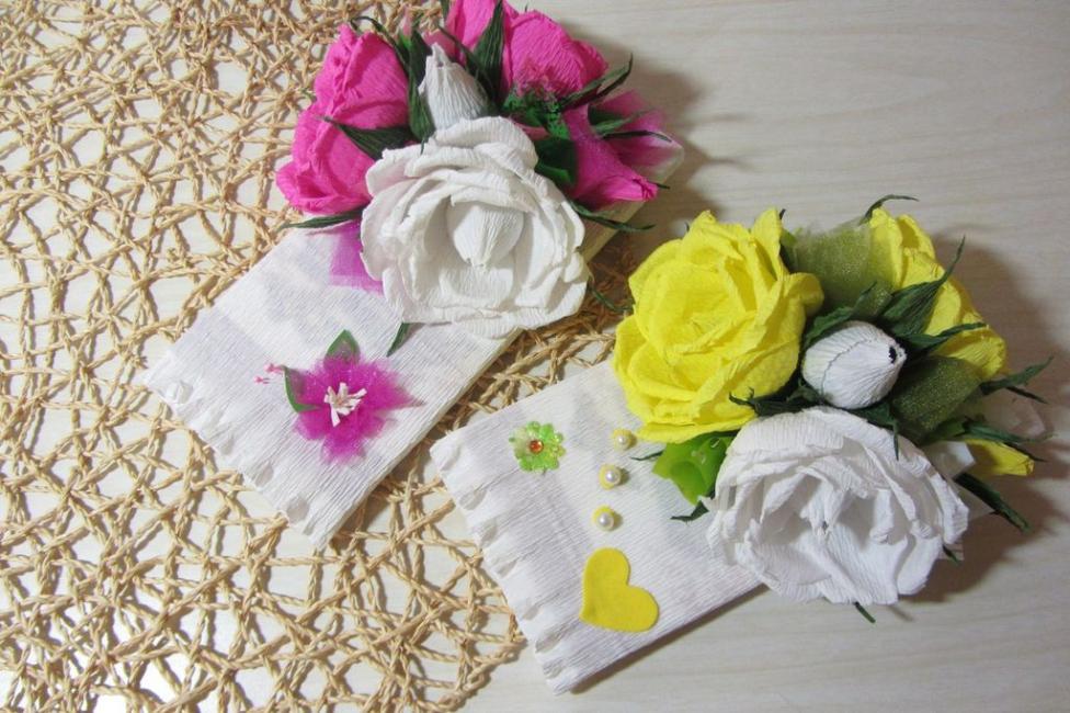 Çiçek Hediye Kapağı