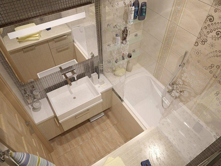 Reka bentuk bilik mandi adalah yang terbaik dilakukan dalam warna-warna cerah