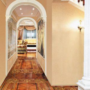Alçıpan güzel Ark Türleri (210+ Fotoğraflar): Kendin yap iç tasarım