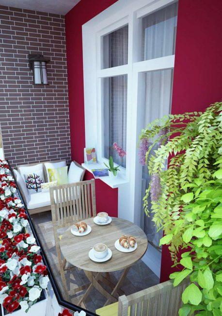 Perabot yang padat dan selesa