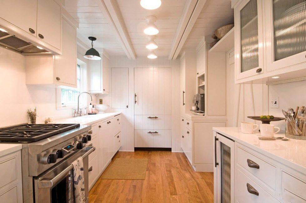 Beyaz, mekanı arttırdıkça küçük alanlar için idealdir.