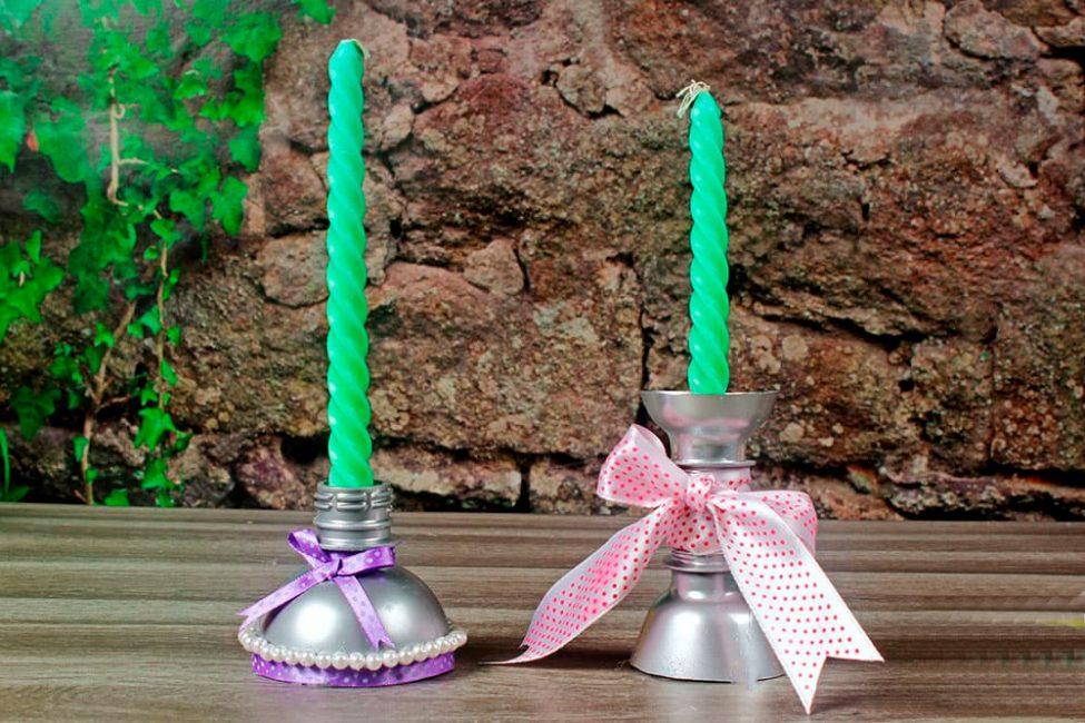 Hiaskan candlestick itu
