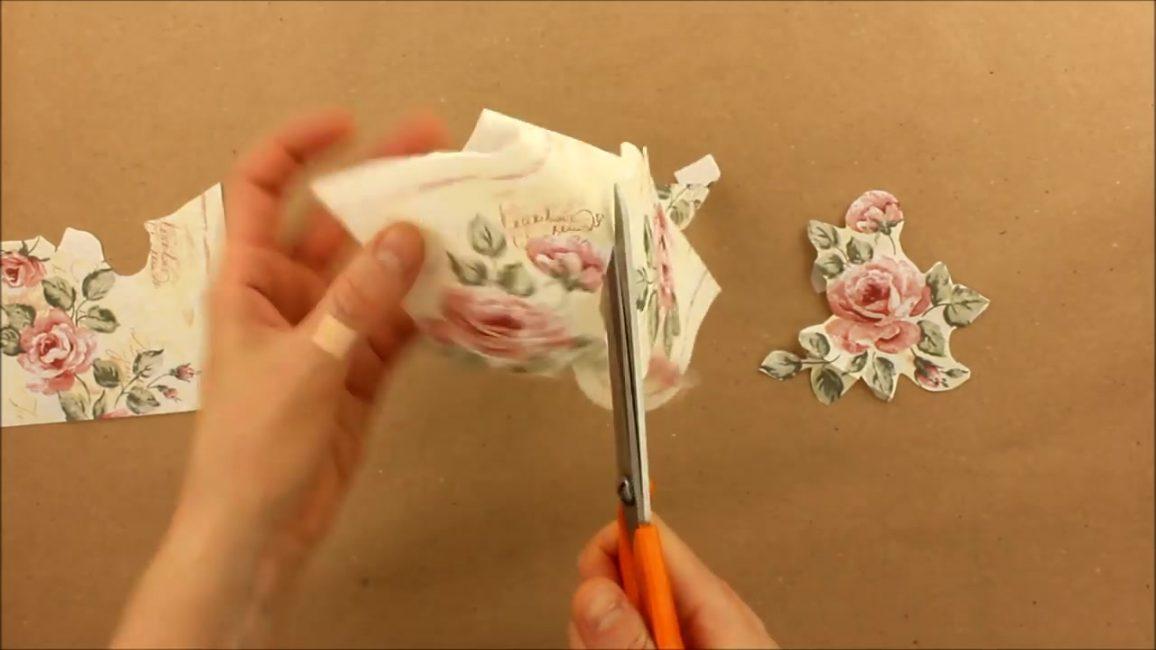 Çizim makasla kesilebilir veya manuel çekme seçeneğini kullanabilirsiniz