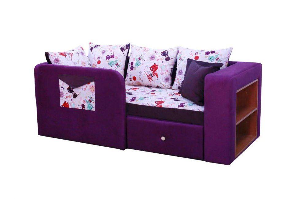 Yanlardan alındığında bir kanepeye dönüşen yatak