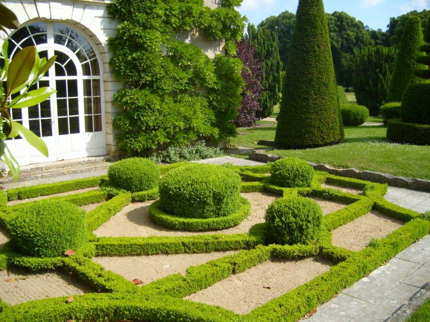 Malah di kawasan yang kecil adalah mungkin untuk menyusun serpihan trek seperti maze yang mengelirukan.