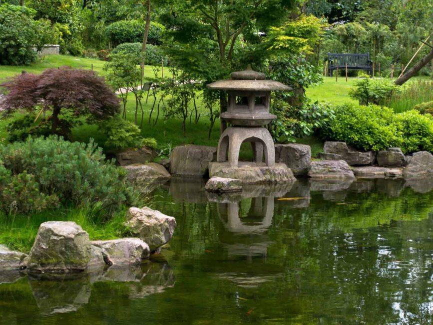 Ini adalah tempat untuk mengagumi alam, pemikiran mendalam dan upacara teh.