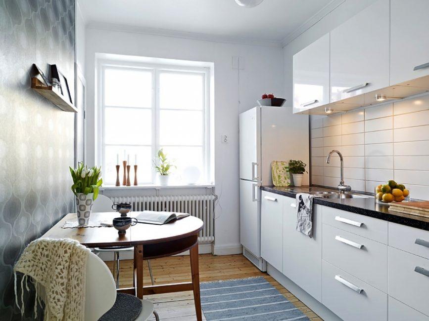 Semakin ringan, dapur nampaknya lebih luas