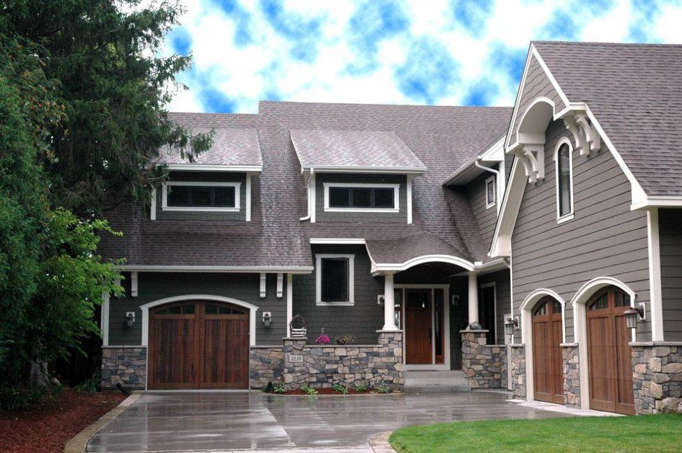 Rumah yang digabungkan dengan garaj menjimatkan ruang di kawasan kecil