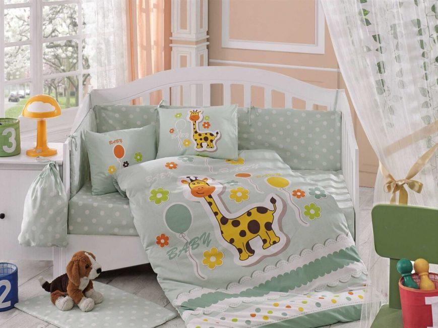 Sakin bebek için yeşil renk