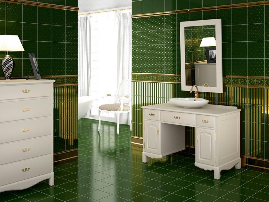 İngiliz tarzı banyo