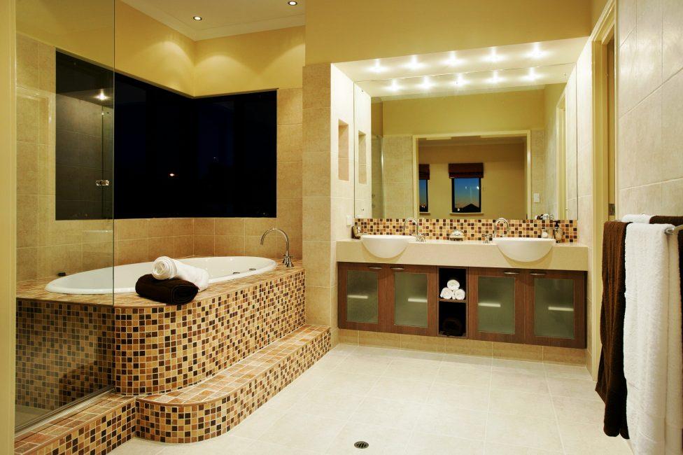 Reka bentuk bilik mandi yang sempurna