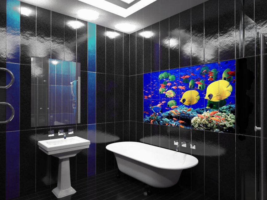 3D deniz fayansları