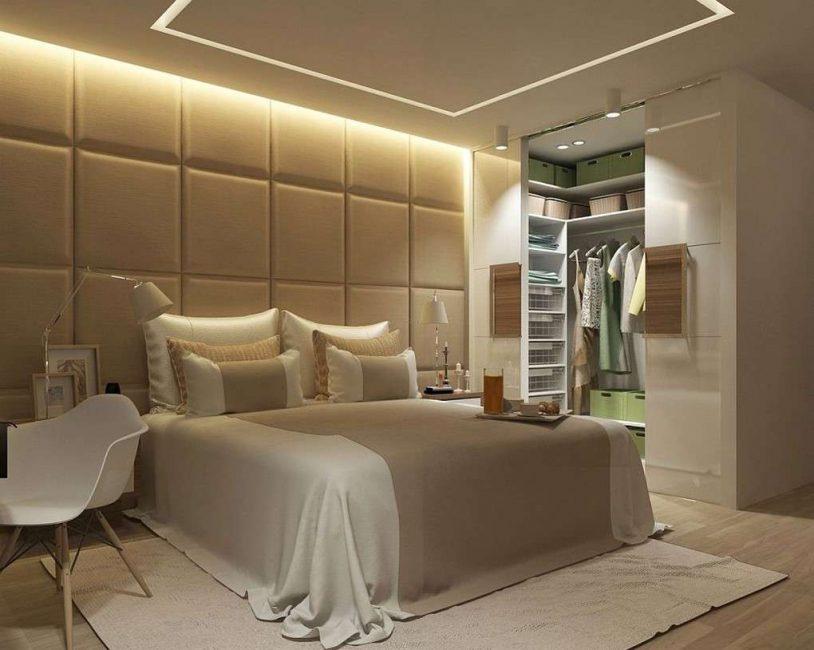 거대한 침실을 갖출 수있게하십시오.