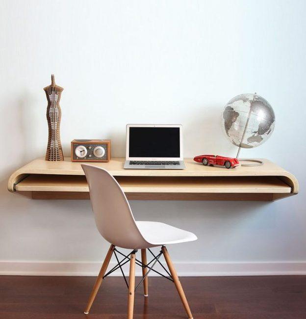 Perabot pejabat dalam gaya minimalis