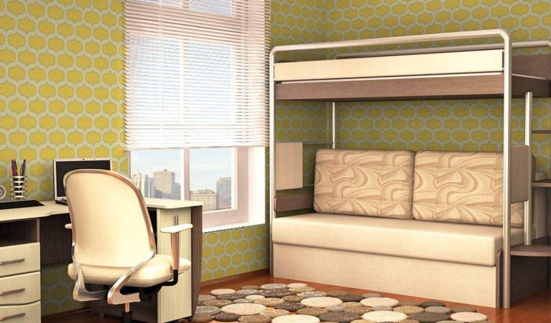Upholstery sofa kulit