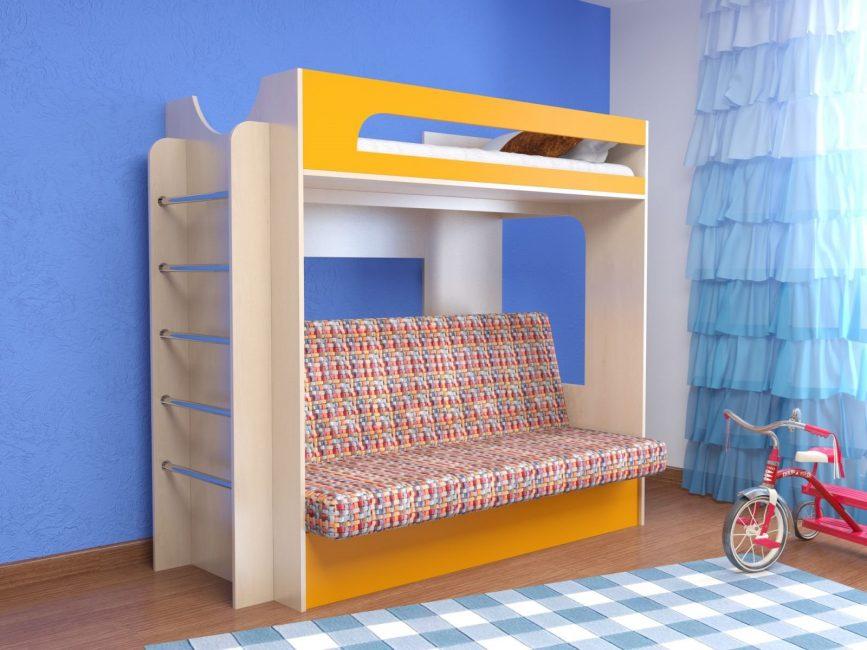 Julat besar apabila memilih perabot kanak-kanak