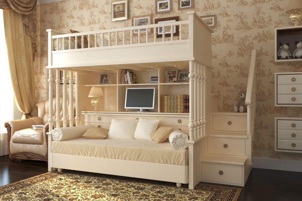 Reka bentuk perabot dalam gaya bilik