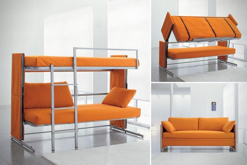 Pengubah sofa dua tingkat