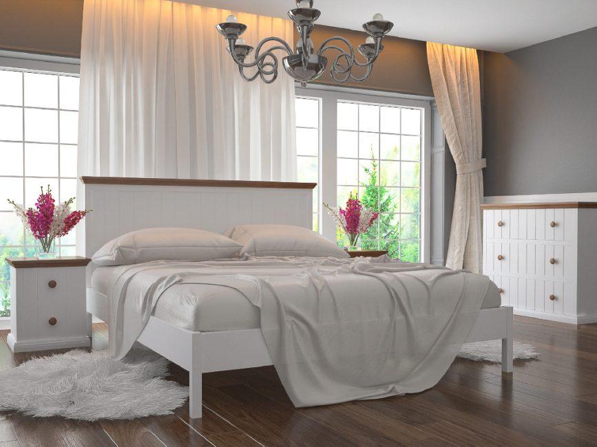 Pilihan katil putih