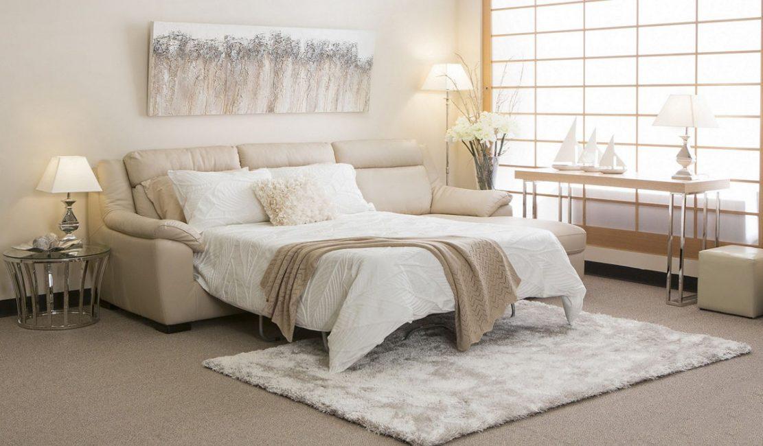Apabila anda boleh mendapatkan sekurang-kurangnya katil yang selesa dari sofa lembut